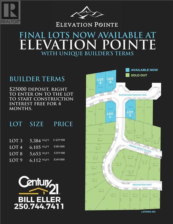 lot 8525 Elevation Pointe Terr