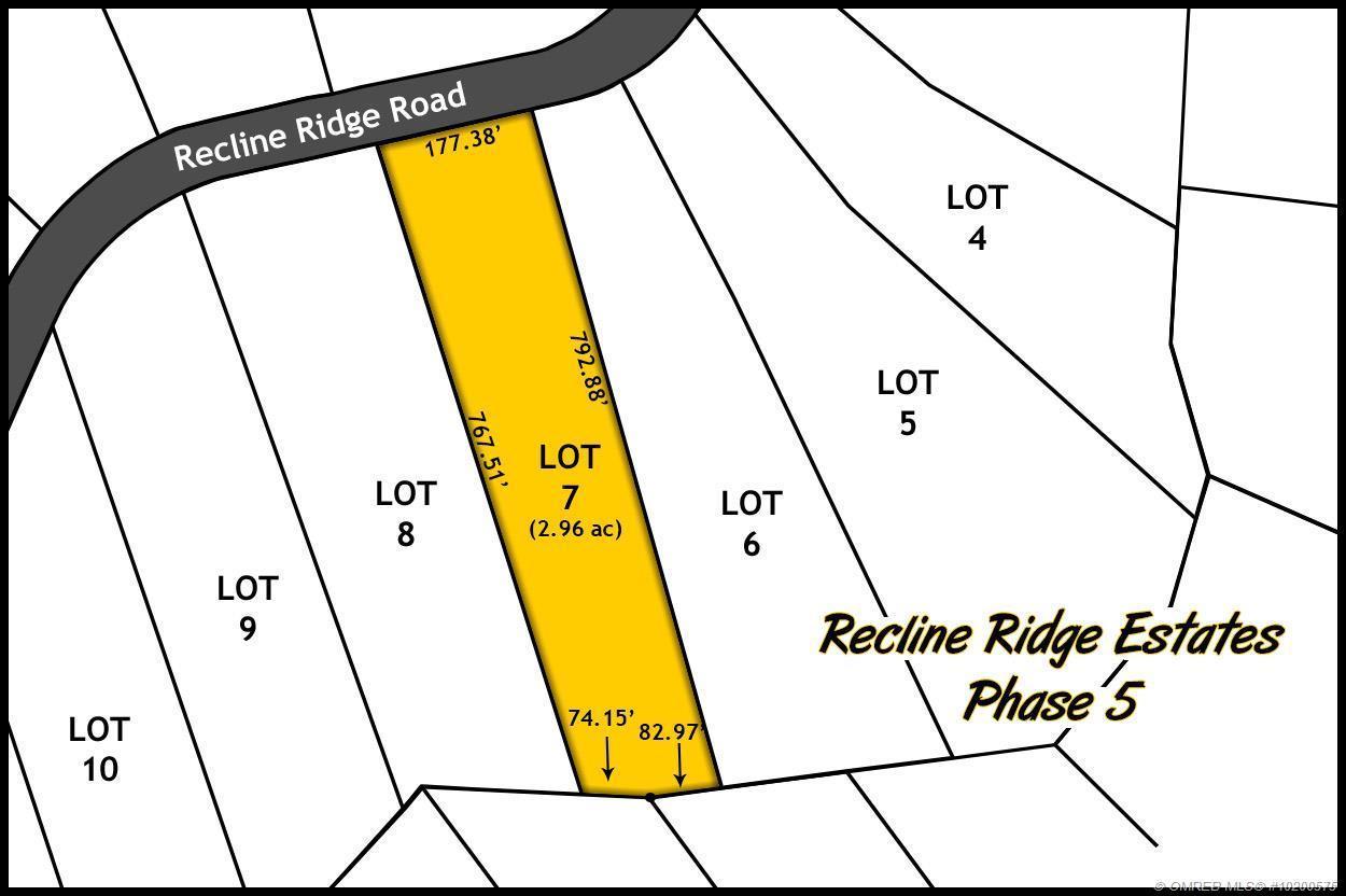 lot 7 Recline Ridge Road